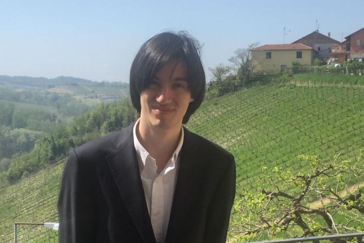 Il pianista Riccardo Mussato, protagonista del recital di venerdì 11 maggio al Museo Leone